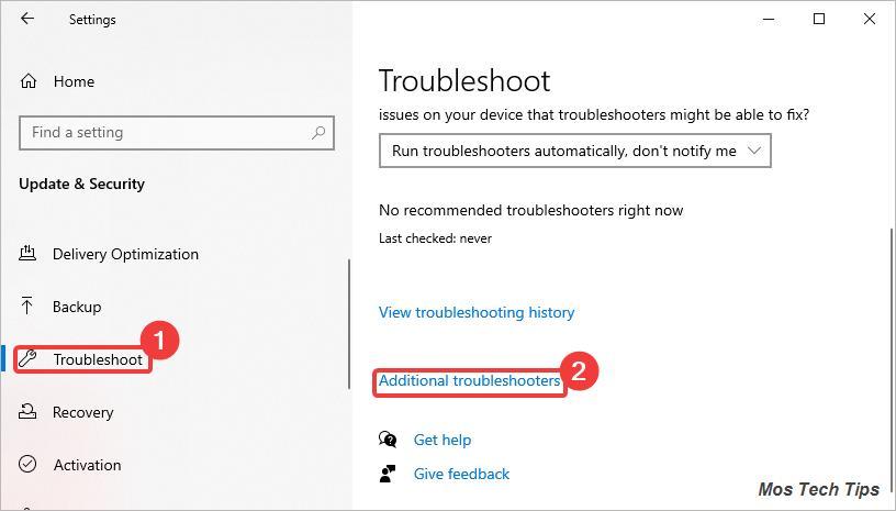 microsoft store troubleshoot