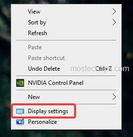 select display settings 2