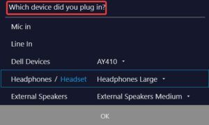 which device did you plug in