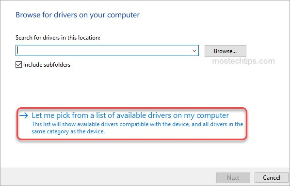 pick drivers