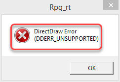 directdraw error