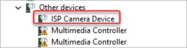 isp camera device