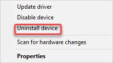 uninstall multimedia audio controller driver