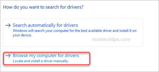 browse drivers