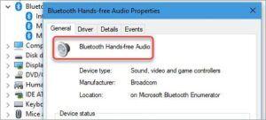 bluetooth hands free audio
