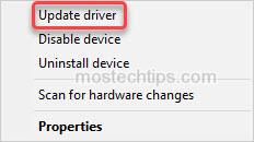 update bluetooth hands free audio driver
