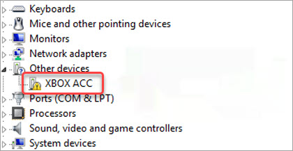 xbox acc in device manager